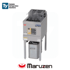 Maruzen Electric Commercial Deep Fryer 415V/3PHASE Reliable Heat Protector Energy Saving Mechanism Productivity Cooker