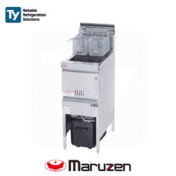 Maruzen Cool Kitchen Series Commercial Gas Deep Fryer (Fast Food) Reliable Heat Protector Energy Saving Mechanism Productivity Cooker