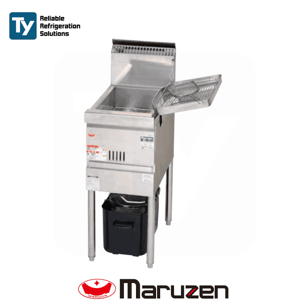 Maruzen Cool Kitchen Series Gas Fryer (Low Oil Amount)