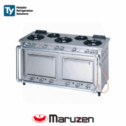 Maruzen Deluxe Gas Range (Outer Piping) (Width: 1500mm)