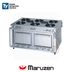 Maruzen Deluxe Gas Range (Outer Piping) (Double Side)