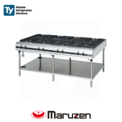 Maruzen Power Cook Series Gas Table (Depth: 1200mm)