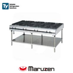 Maruzen Power Cook Series Gas Table (Depth: 1200mm)