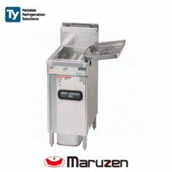 Maruzen Excellent Series Commercial Gas Deep Fryer Reliable Heat Protector Energy Saving Mechanism Productivity Cooker