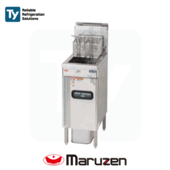 Maruzen Excellent Series Commercial Gas Deep Fryer (Fast Food) Reliable Heat Protector Energy Saving Mechanism Productivity Cooker