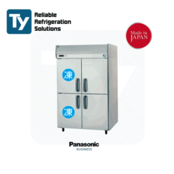 PANASONIC JAPAN K SERIES UPRIGHT COMBINATION Commercial Stainless Steel Storage Refrigerator Fridge