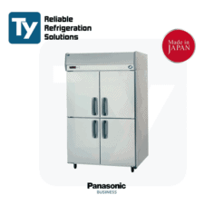 PANASONIC K series pillarless upright freezer Stainless Steel