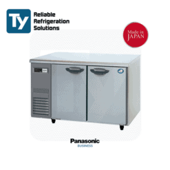 PANASONIC K series undercounter chiller with left side compressor