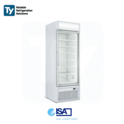 ISA Tornado 1 Door Upright Display Freezer