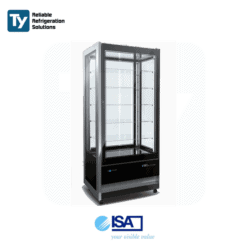 ISA Cristal Tower Gelato Display Freezer