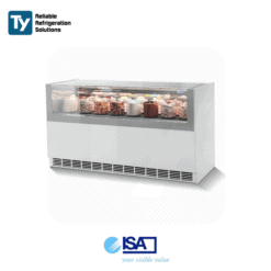 ISA One Show Free Gelato Display Freezer