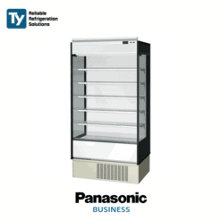 PANASONIC OPEN CASE MULTI DECK DRINK CHILLER MERCHANDISER DISPLAY REFRIGERATOR FRIDGE