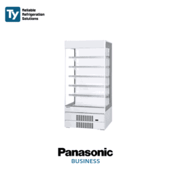 Panasonic Open Showcase with Inverter Compressor