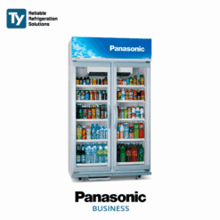 PANASONIC Glass Door Beverage Bottle Drink Chiller Commercial Merchandiser and Flower Refrigerator Fridge