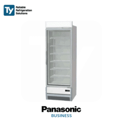 PANASONIC Glass Door Icecream Display Freezer Commercial Merchandiser Refrigerator Fridge -25˚C
