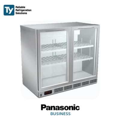 PANASONIC GLASS DOOR UNDERCOUNTER CHILLER - 3 Door